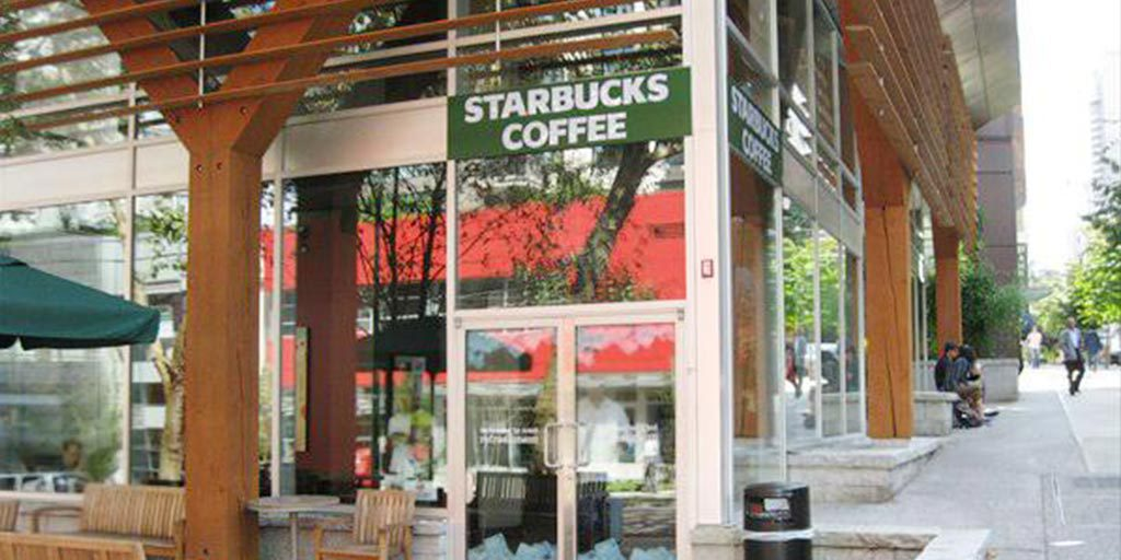 Starbucks on Melville and Bute